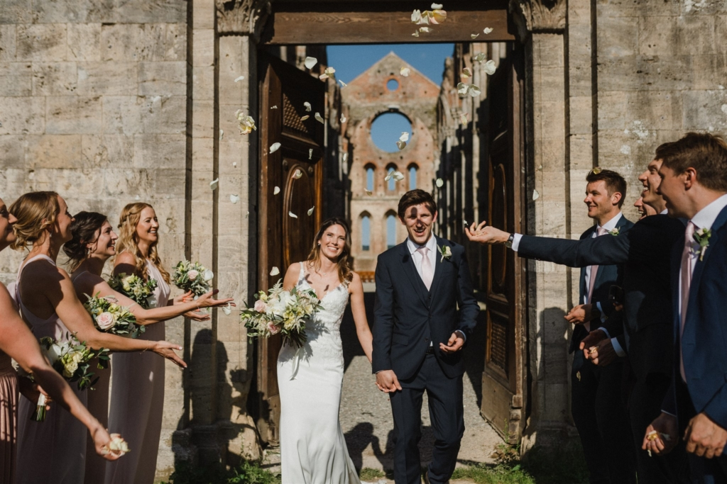 wedding at san galgano abbey